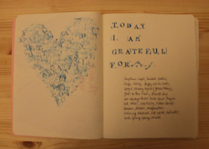 Today I am grateful for...